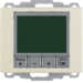 20440002 Therm. met display,  maakcontact,  berker Arsys,  wit