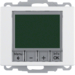 20440069 Therm. met display,  maakcontact,  berker Arsys,  polarwit