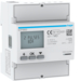 ECP380D kWh-meter 3-fase direct 80 A,  4 modulen,  met S0 pulsuitgang,  MID