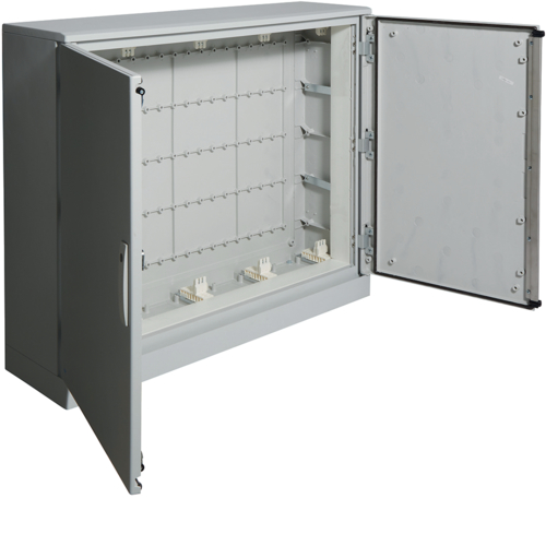 FL54SPX01 Verdeler IP65 geïsoleerd 900 x 1100 x 300 mm,  met UV-coating en plint
