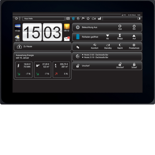 "WDI100 Touch Panel 10"" Android"
