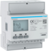 ECM300C kWh-meter 3-fase via CT 1 A of 5 A,  4 modulen,  M-bus MID