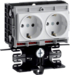 SL200559409010 SL20055, frame outlet incl. 2x WCD wit
